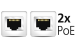 Dual Gigabit Ethernet Ports